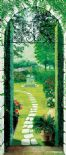 Wizard + Genius Wallpaper Door Decor Mural 00511 Vista Dal Particato By Colemans